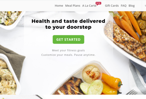 Gourmet food delivery for fitness enthusiasts